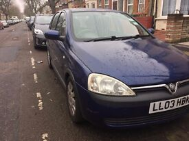 2003 Vauxhall Corsa 1.0 Active (Spares or Repairs)