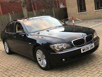 2006 BMW 730D 7 SERIES 3.0 DIESEL AUTOMATIC SALOON SILVER LUXURY 5 SEAT MOT 730 N S CLASS A8 X5 530