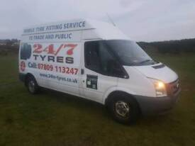 Ford Transit Tyre van. Fully equipped.