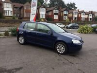 VOLKSWAGEN GOLF 1.6 2007 BLUE MANUAL **EXCELLENT CONDITION**
