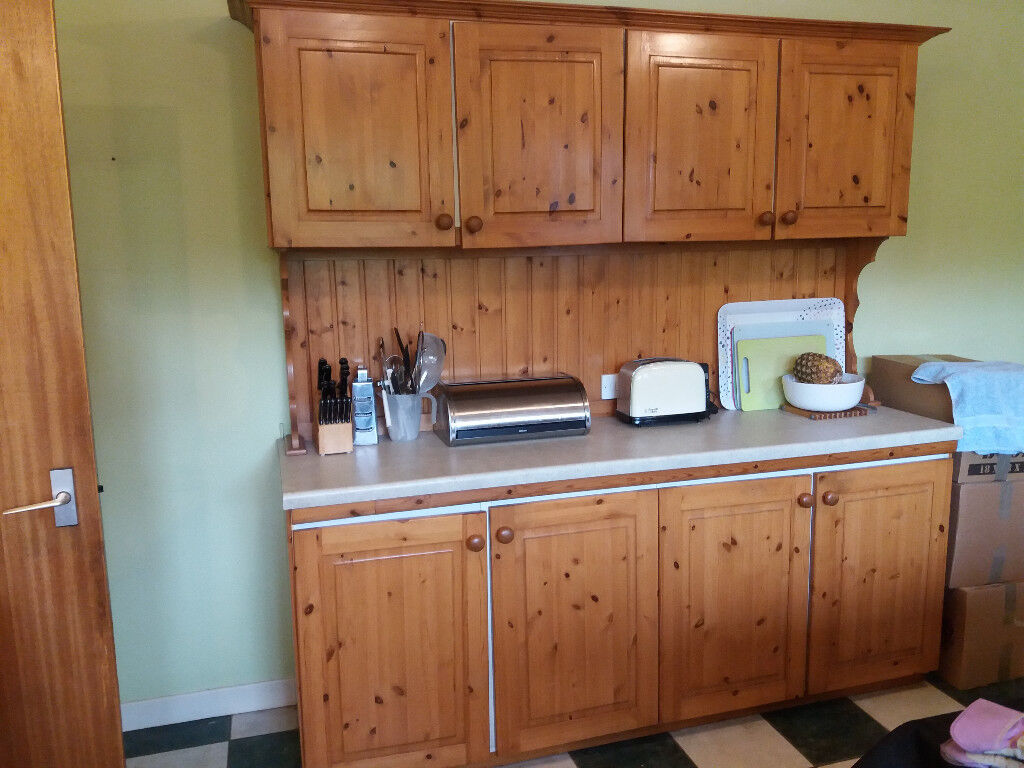 Pine Kitchen Doors And Drawer Fronts Worktop Side Panels Plinth