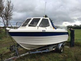 Boat for Sale! Warrior 175 2004, Honda 90 Outboard 4 Stroke