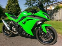Kawasaki Ninja 300 - clipons, crash bobbins & tail tidy, recent service & MOT, great A2 bike