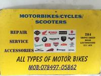 MOTORBIKE REPAIR AND SERVICE IN LEYTONSTONE