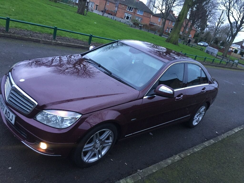 2007 c200 cdi diesel amg alloys full rep leather interior burgandy swap px 320d 318ci mercedes. Black Bedroom Furniture Sets. Home Design Ideas