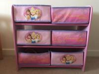 Disney Princess Storage Drawers