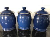 Denby storage jars