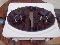 Vintage cast iron cooker