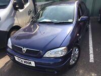 Vauxhall Astra SXI 16V 1796cc Petrol 5 speed manual 5 door hatchback Y Reg 16/06/2001 Blue