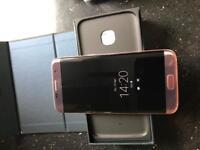Samsung galaxy S7 Edge 32gb Unlocked Rose Gold