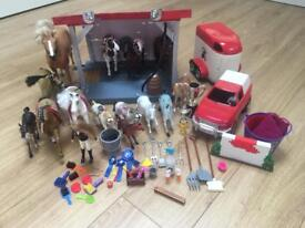 Horse Themed Play Set Bundle