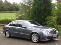 2006 MERCEDES BENZ E280 CDI SPORT 7G-TRONIC **1 OWNER - ONLY 77,000 MILES - FULL MOT - IMMACULATE**