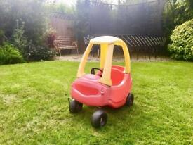 Little tikes cosy car