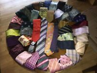 Men's Ties, Assortment of Colours, Silk/Cotton (BRAND NEW, DESIGNER BRANDS) Single and Bundle offers