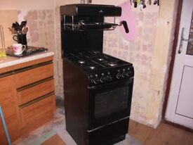 free standing new world gas cooker