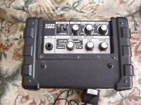 roland micro cube amplifier battery and mains driven