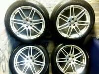 20 inch 5x112 genuine Audi Q5 alloys wheels