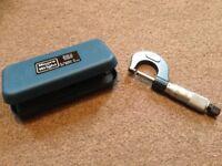 Micrometer - Moore & Wright 1965