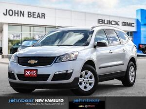 2015 Chevrolet Traverse LS AWD - ONE OWNER TRADE IN
