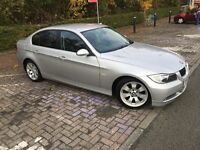 Silver 2007 BMW 325D 3.0 diesel manual for sale