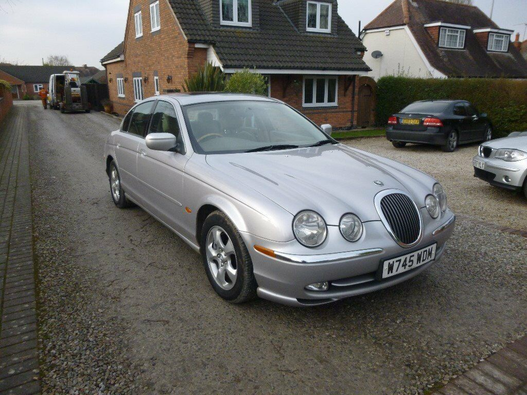 2000 jaguar s type 3 0 v6 se auto silver 86000 miles 12. Black Bedroom Furniture Sets. Home Design Ideas