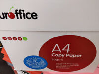 5 BOXES (25 reams) A4 WHITE 80GsM printing paper ** REAL BARGAIN **
