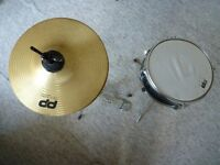 Junior Hi Hat and Snare Drum both with stands
