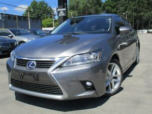 2014 Lexus CT 200h BACK-UP CAMERA~SUNROOF~95KMS !!!