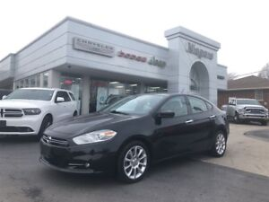 2015 Dodge Dart LIMITED,LEATHER,HTD SEATS,8.4,ALLOYS!