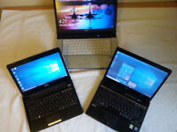"LIGHTWEIGHT INTEL 11.6"" laptop LONG BATTERY LIFE (FUJITSU PH530 black) 0856"