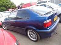 BREAKING bmw e36 compact.