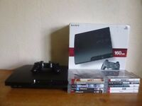 Boxed PlayStation 3 Slim 160GB Console Bundle - PS3