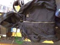 RVCA Balance Box Zipper Hoodie XL Black