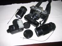 Minolta XD7 1985 and accessories all in good condition