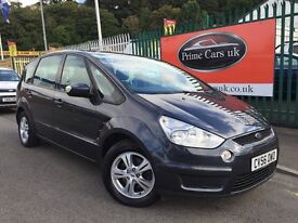 2006 56 Ford S Max 2.0 TDCi Zetec 5 Door Turbo Diesel 6 Speed Manual 7 Seater