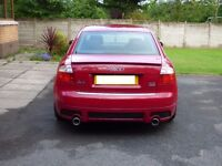 2003 Audi A4 3.0L Petrol Quattro Sport. Red. In very good condition Mot'd to 19th August 2017