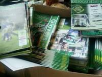 Yeovil town football club programmes.