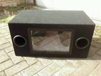 Mint condition 250 watt subwoofer