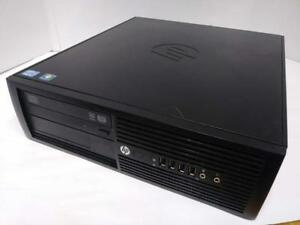 HP Pro 4300 - i3-2120 CPU 3.3Ghz / 8GB RAM / 500GB HDD / HD 2000 Graphics DVI+VGA + 1 Year Warranty + Free Shipping!