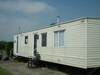 Static Caravan Sited at Southview Park near Skegness in Lincolnshire