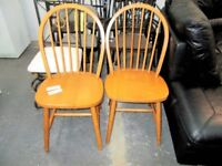 2 x Dining Chairs…RF4630