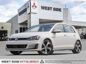 2016 Volkswagen Golf GTI Autobahn–Accident Free–Navigation–Siriu
