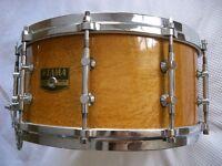 """Tama AW546 Artwood BEM Pat 30 snare drum 14 x 6 1/2"""" -Japan - '80s - Gladstone model"""