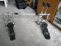 Sonor DP472R Double Bass Drum Pedal & Case. In original packaging