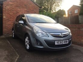 Vauxhall Corsa 1.4 SXi 5 door 2011 (60 plate) 37000 miles reduced to £3250