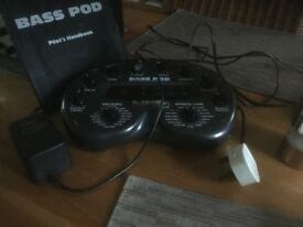 Line 6 Bass Pod Never used! Mint condition.