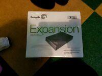 Seagate desktop expansion harddrive 3TB
