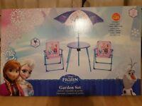 Frozen childrens garden set