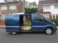 Vauxhall vivaro 2004 twin side doors reliable van
