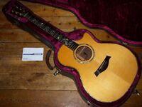 Taylor 914 C electro acoustic 1996 with Fishman Prefix Premium Blend pickup system
